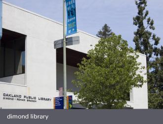 dimond laurel district oakland - dimond library oakland public library