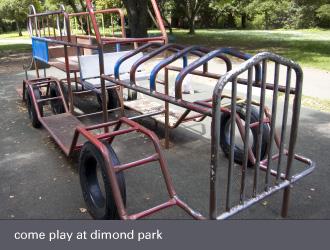 dimond laurel district oakland - dimond park playground