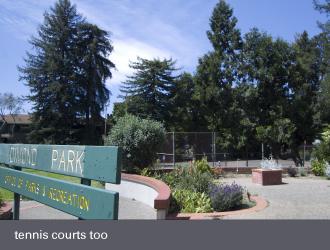 dimond laurel district oakland - dimond park tennis courts