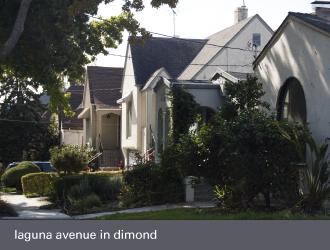 dimond laurel district oakland - laguna avenue homes