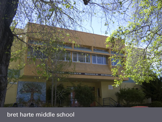 dimond laurel district oakland - bret harte middle school