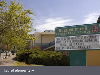 dimond laurel district oakland - laurel elementary school
