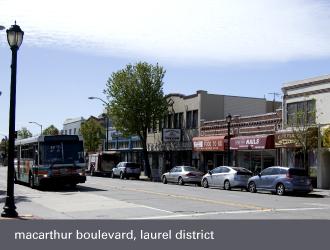dimond laurel district oakland - macarthur boulevard