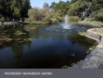 montclair oakland - recreation center