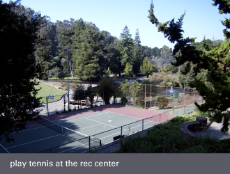montclair oakland - tennis courts