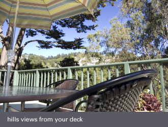 montclair oakland homes - hill view