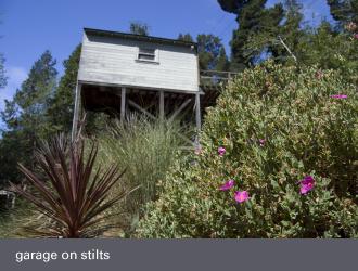 montclair oakland homes - charming garage