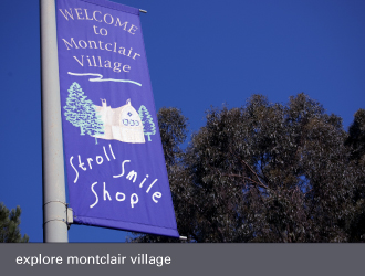 montclair village oakland - visit
