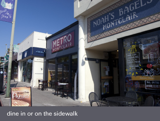 montclair village oakland - noahs bagels metro montclair