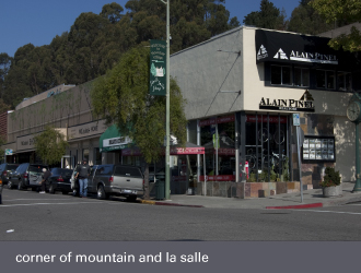 montclair village oakland - mountain boulevard and la salle avenue
